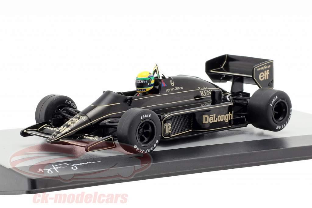 Ayrton Senna Lotus 98T #12 Brasilien GP Formel 1 1986 1:43 Altaya