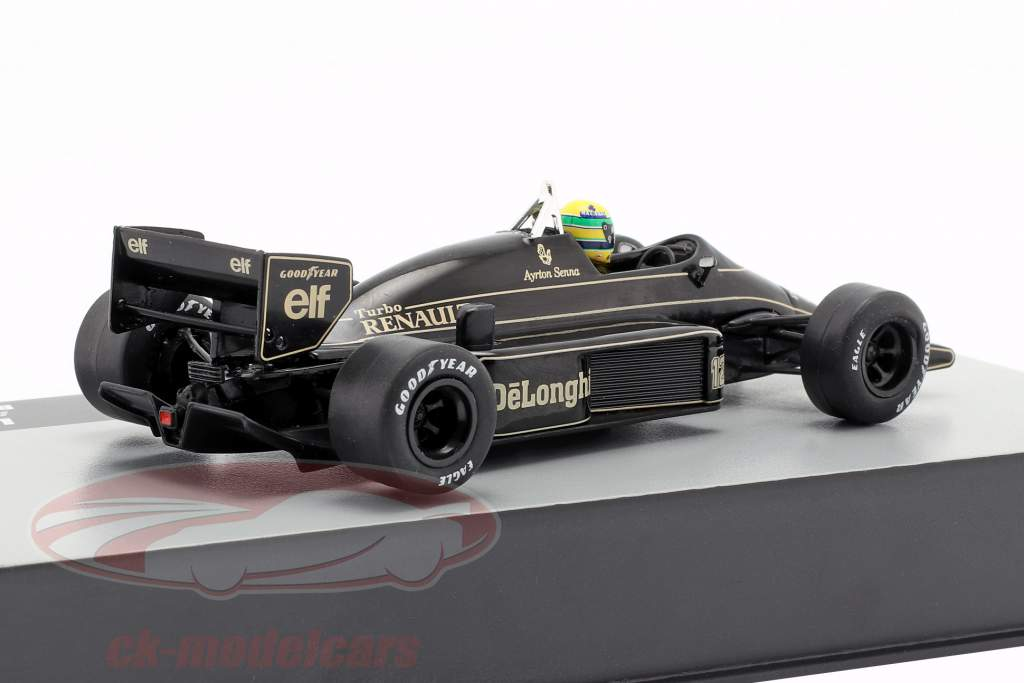 Ayrton Senna Lotus 98T #12 Brésil GP formule 1 1986 1:43 Altaya