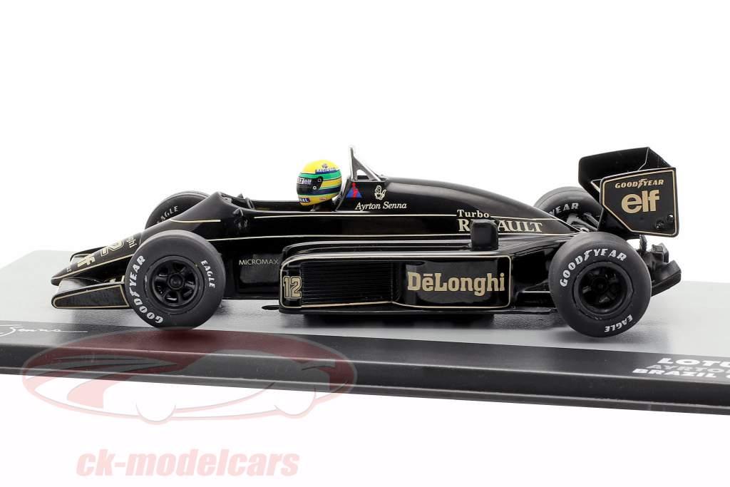 Ayrton Senna Lotus 98T #12 Brasil GP fórmula 1 1986 1:43 Altaya
