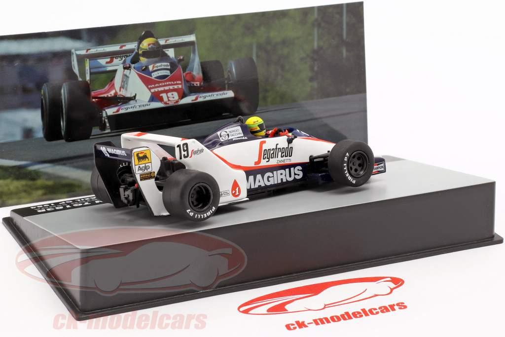 Ayrton Senna Toleman TG183B #19 Brazil GP formula 1 1984 1:43 Altaya