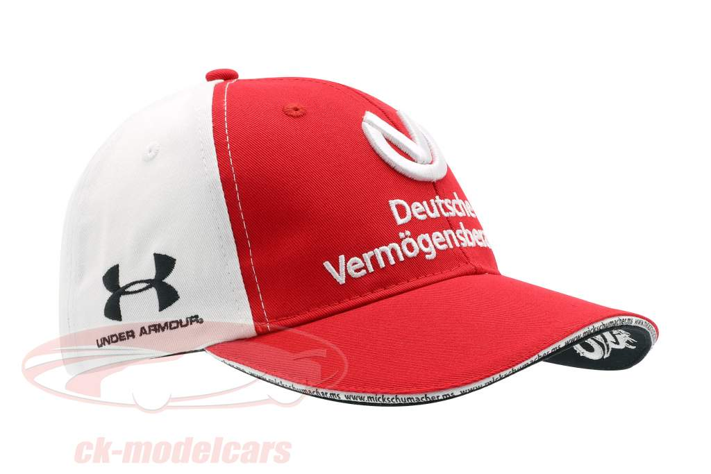 Mick Schumacher Cap #9 Formel 2 2019 rot / weiß