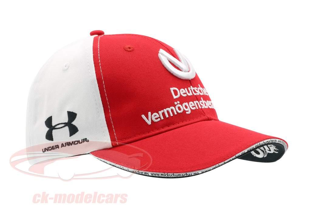 Mick Schumacher Cap #9 formule 2 2019 rouge / blanc