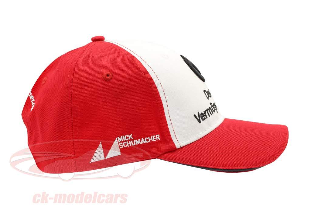 Mick Schumacher Cap #4 formula 3 champion 2018 red / white