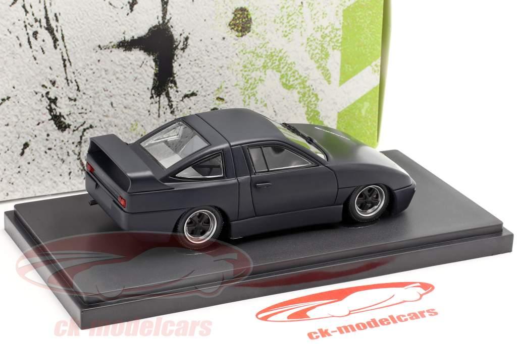 Porsche Experimental Prototyp année de construction 1985 noir 1:43 AutoCult