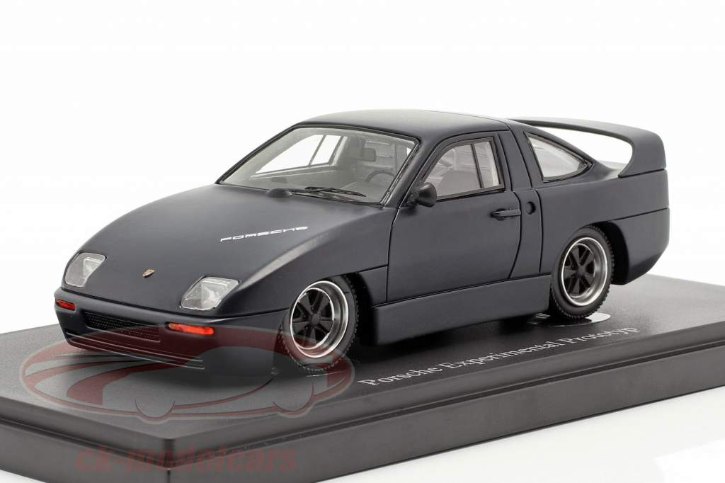 Porsche Experimental Prototyp year 1985 black 1:43 AutoCult