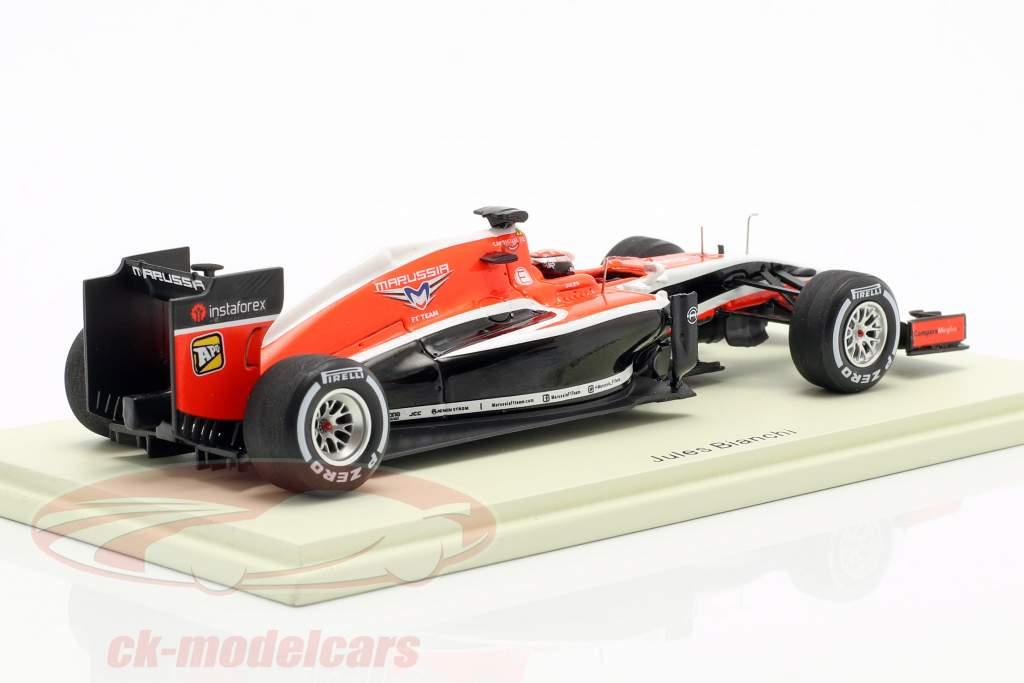 Jules Bianchi Marussia MR03 #17 Maleisië GP formule 1 2014 1:43 Spark