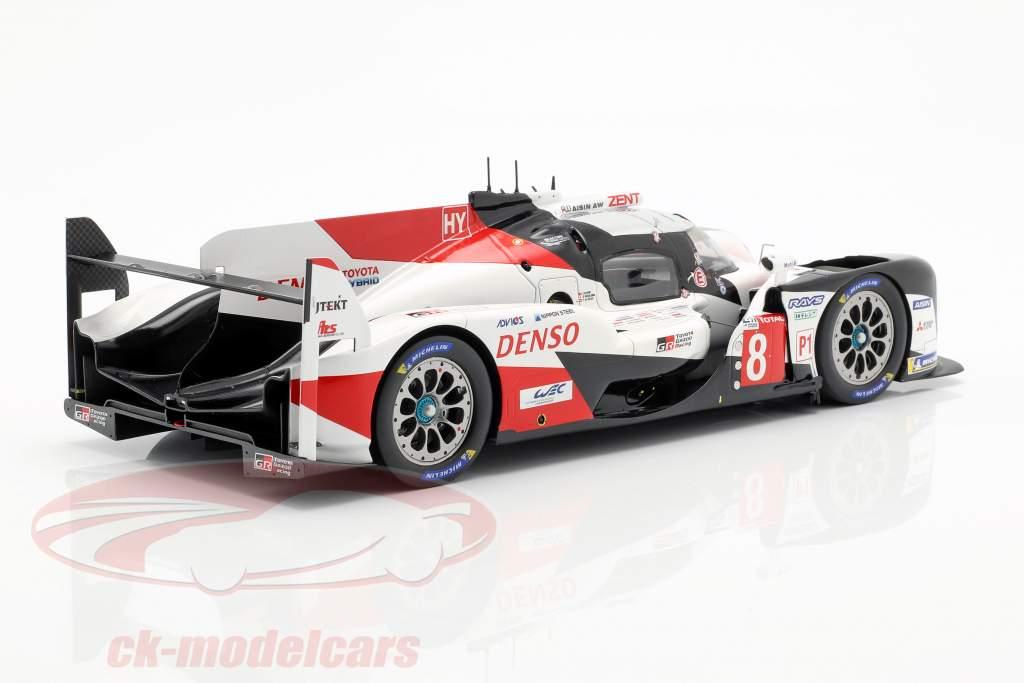 Toyota TS050 Hybrid #8 gagnant 24h LeMans 2019 Buemi, Nakajima, Alonso 1:18 Spark