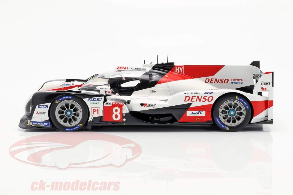 Toyota TS050 Hybrid #8 ganador 24h LeMans 2019 Buemi, Nakajima, Alonso 1:18 Spark