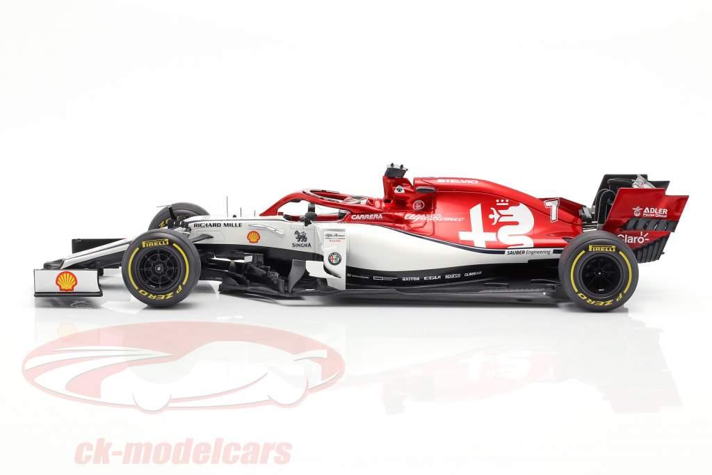 Kimi Räikkönen Alfa Romeo Racing C38 #7 australiano GP F1 2019 1:18 Spark