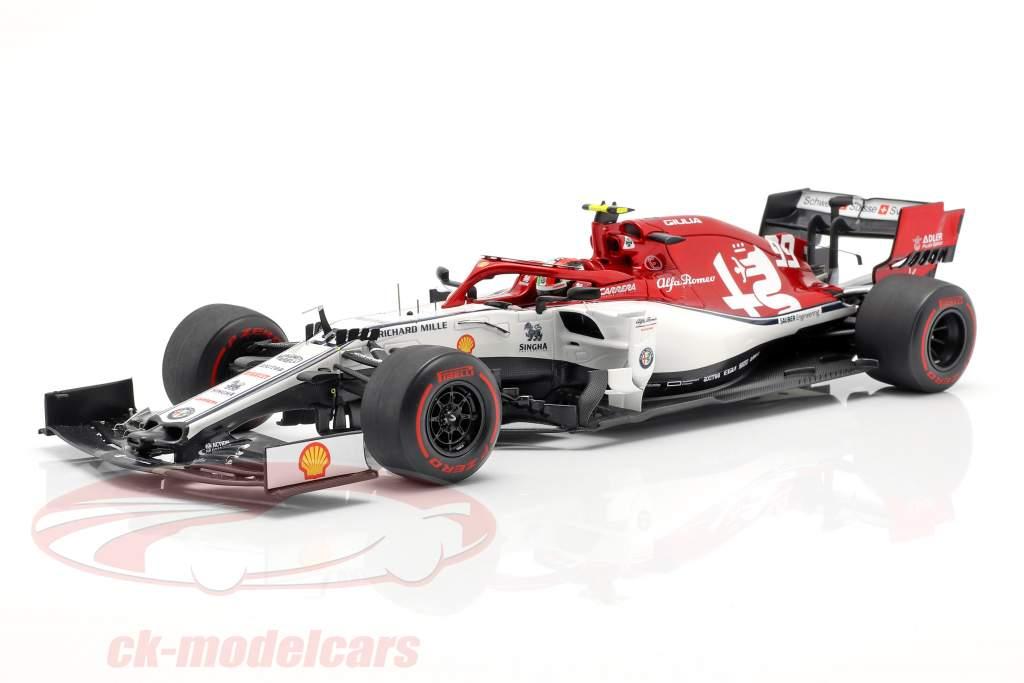 Antonio Giovinazzi Alfa Romeo Racing C38 #99 australiano GP F1 2019 1:18 Spark