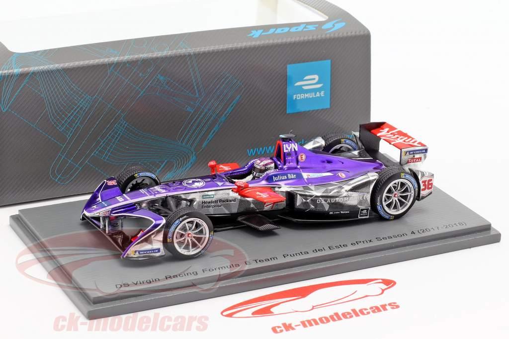 Alex Lynn DS Virgin DSV-03 #36 Punta del Este ePrix formula E 2017/18 1:43 Spark