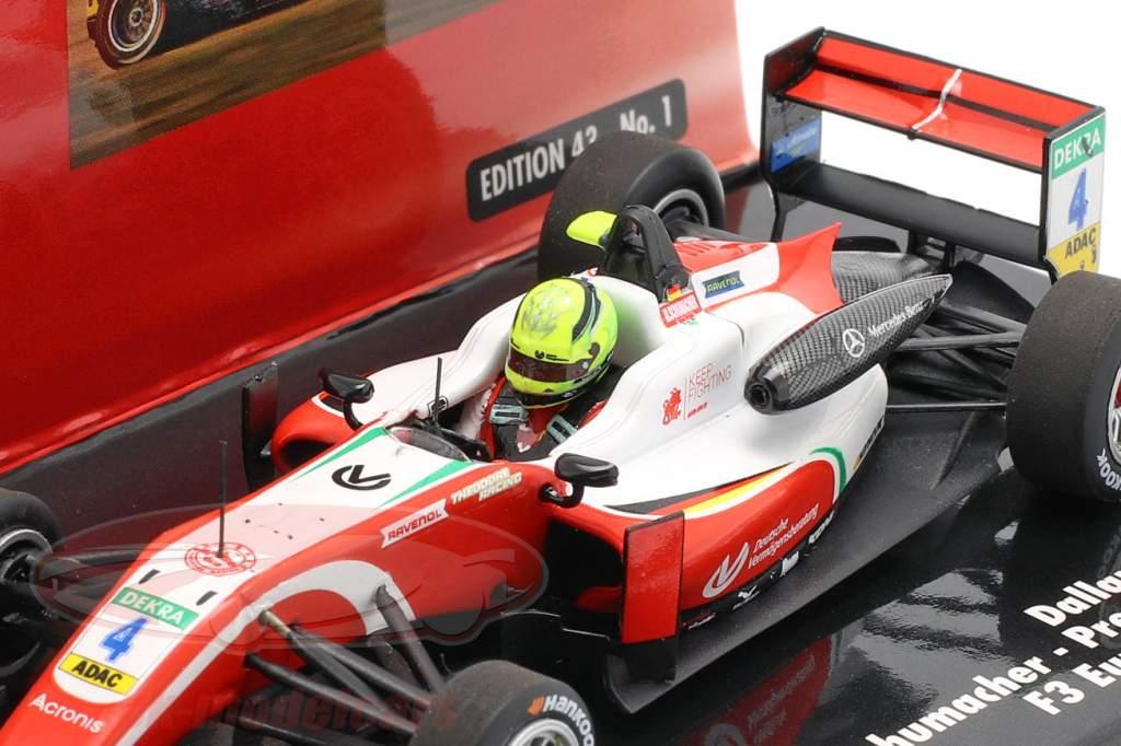 Mick Schumacher Dallara F317 #4 formel 3 mester 2018 1:43 Minichamps