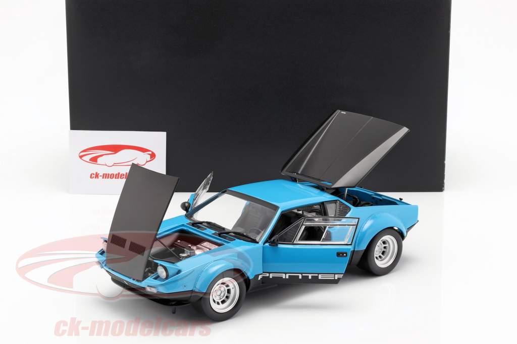 De Tomaso Pantera GT4 Opførselsår 1975 blå / sort 1:18 Kyosho