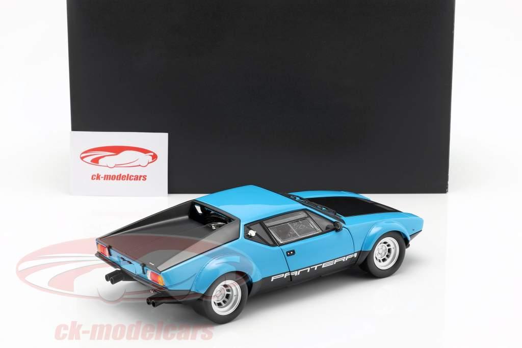 De Tomaso Pantera GT4 year 1975 blue / black 1:18 Kyosho