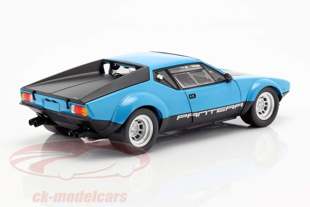 De Tomaso Pantera GT4 año de construcción 1975 azul / negro 1:18 Kyosho