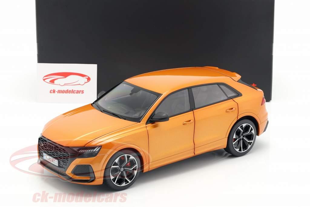 Audi RS Q8 Opførselsår 2020 dragen appelsin 1:18 Jaditoys