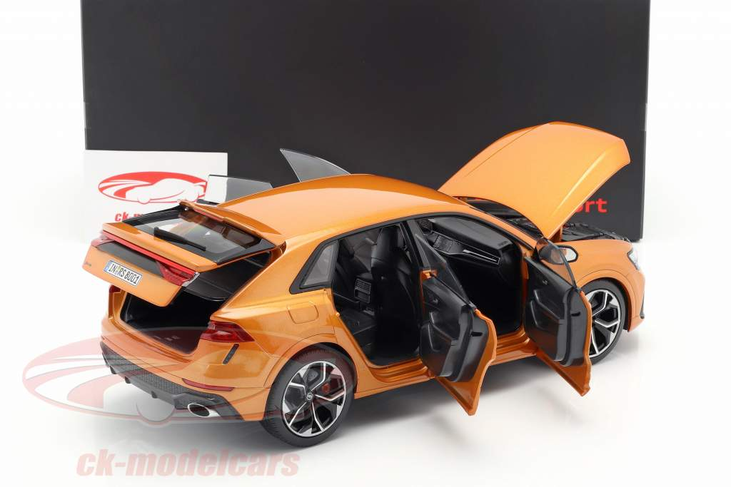 Audi RS Q8 year 2020 dragon orange 1:18 Jaditoys