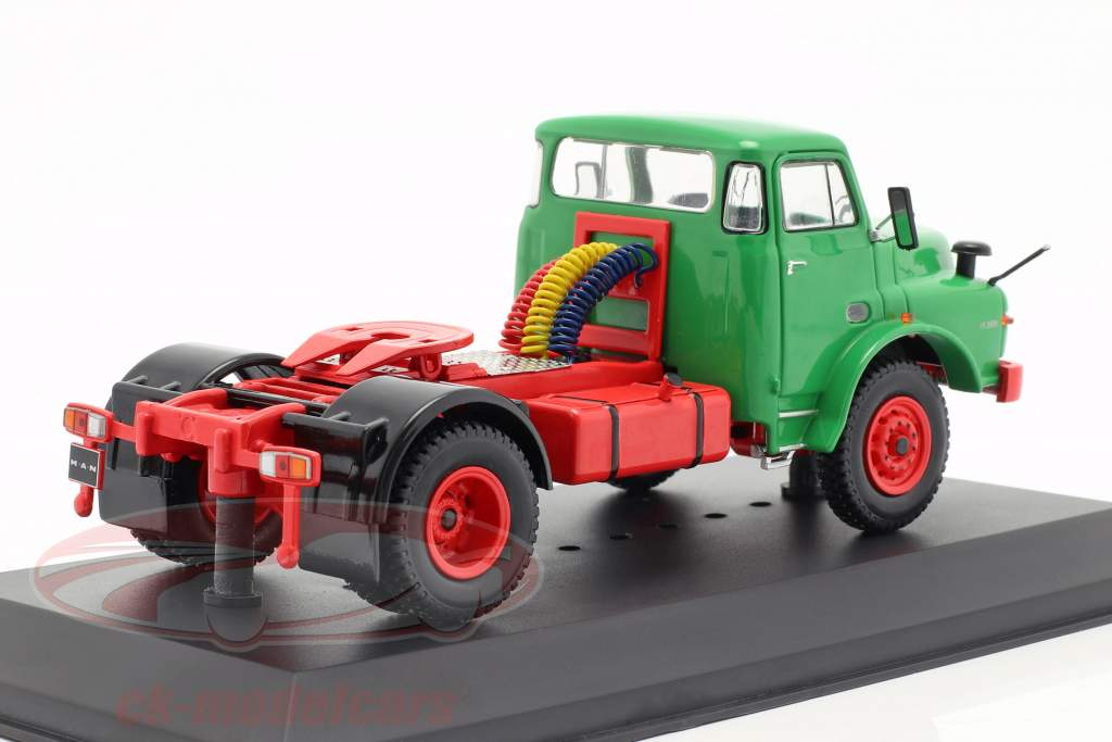 MAN 19.280H caminhão ano de construção 1971 verde 1:43 Ixo