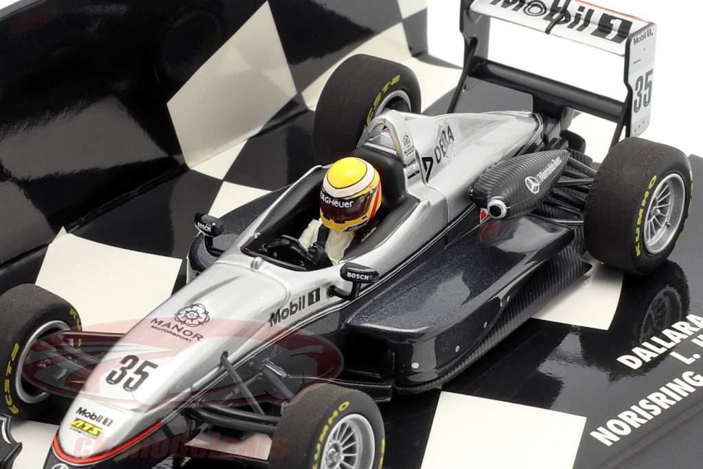 L. Hamilton Dallara F302 #35 ganador Norisring F3 Euro Series 2004 1:43 Minichamps