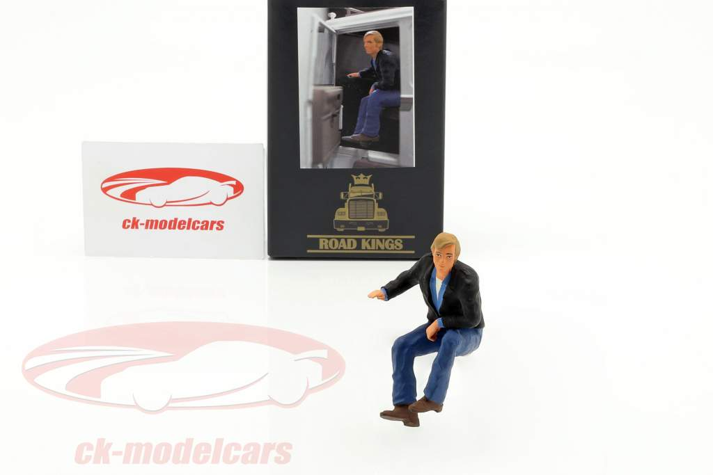 Figure Truck driver Günther sitting 1:18 Road Kings