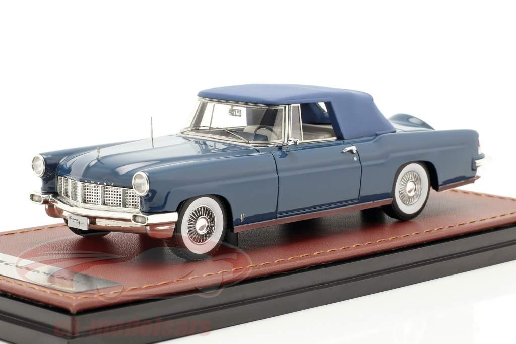Lincoln Continental MK II Closed Top año de construcción 1956 azul 1:43 GLM