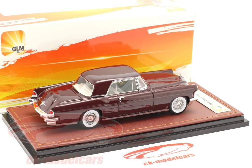 Lincoln Continental MK II year 1956 maroon 1:43 GLM