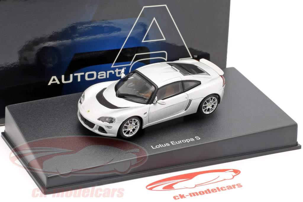 Lotus Europa S année 2006 argent 1:43 AUTOart