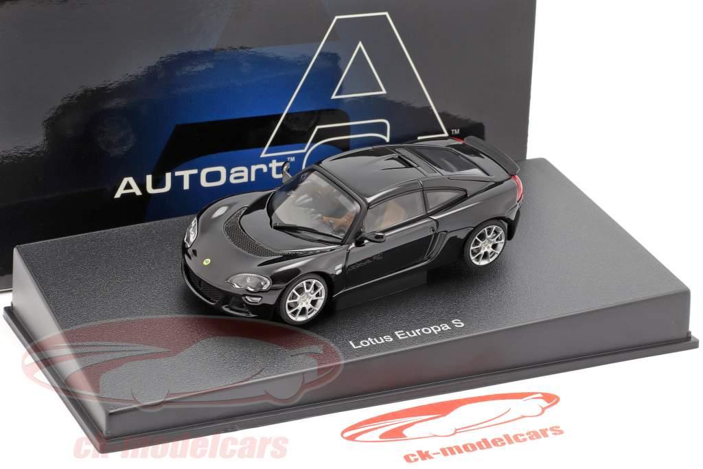 Lotus Europa S Ano 2006 Preto 1:43 AUTOart