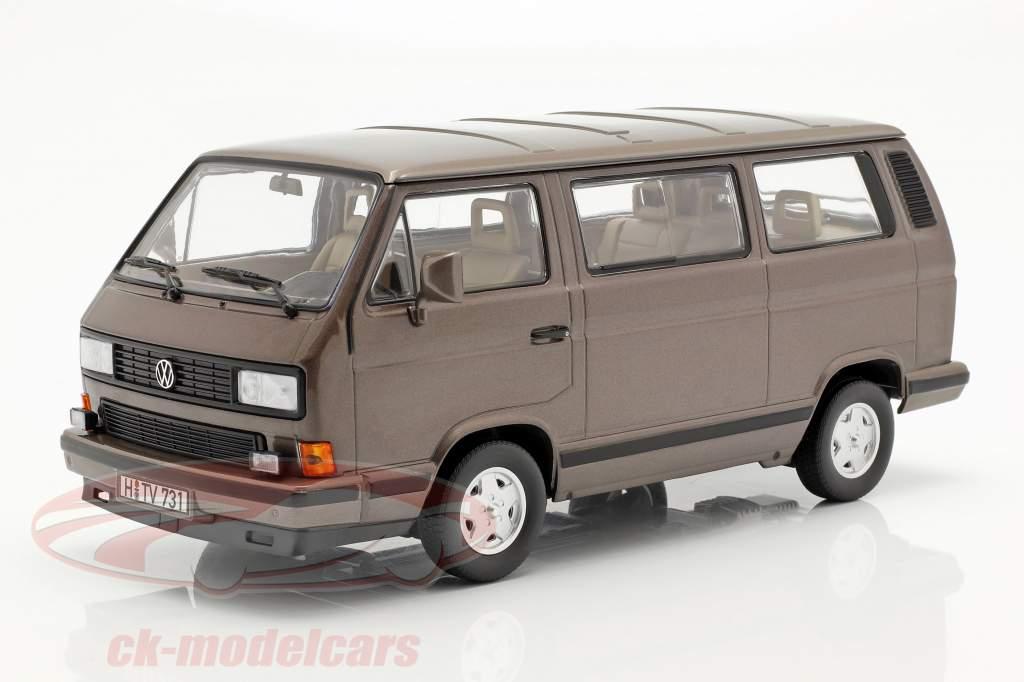 Volkswagen VW Multivan ano de construção 1990 bronze metálico 1:18 Norev