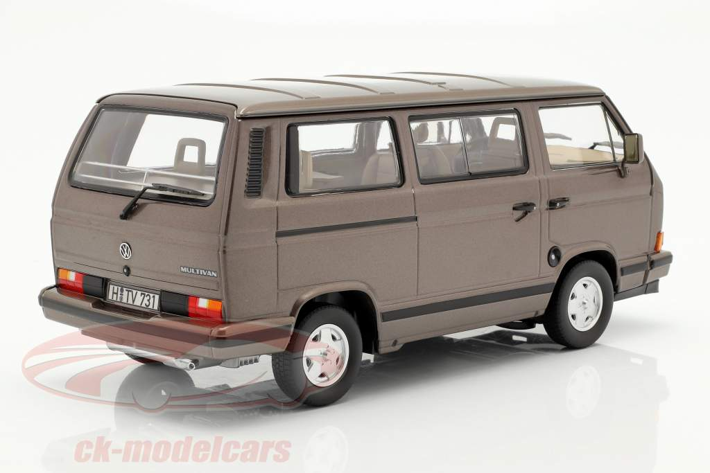 Volkswagen VW Multivan Baujahr 1990 bronze metallic 1:18 Norev