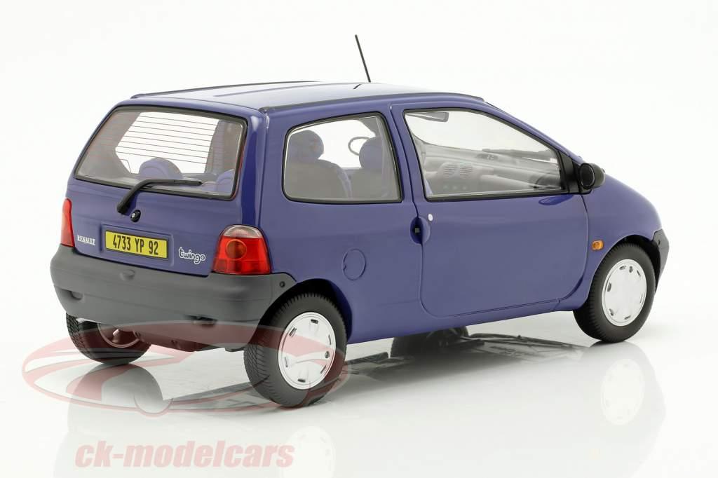 Renault Twingo ano de construção 1993 outremer azul 1:18 Norev