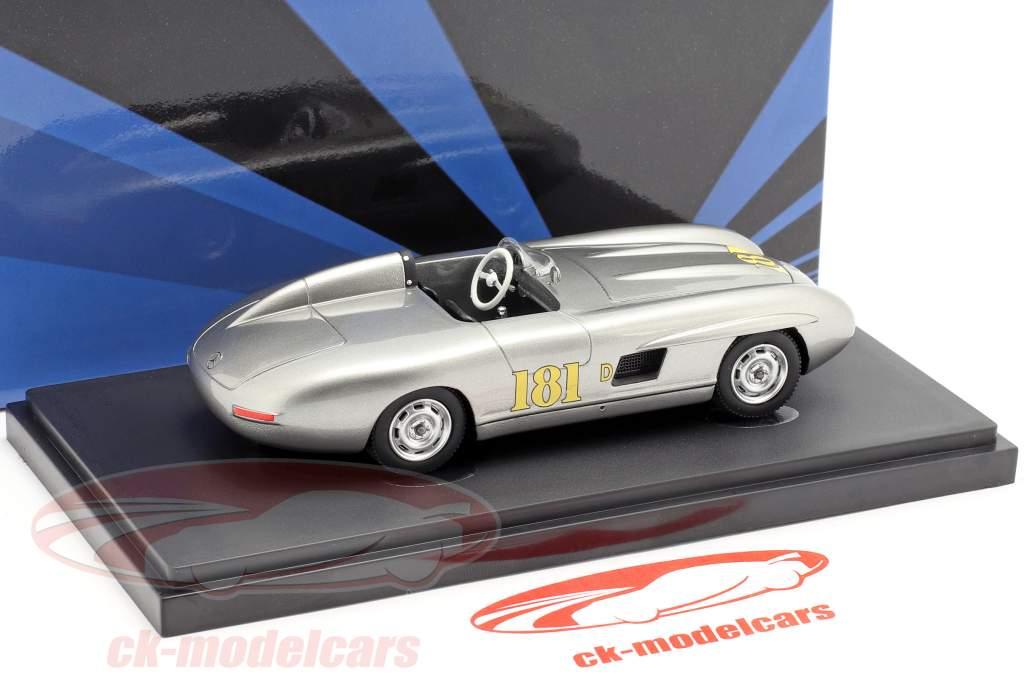 Mercedes-Benz 300 SL Porter Special 1956 plata 1:43 AutoCult