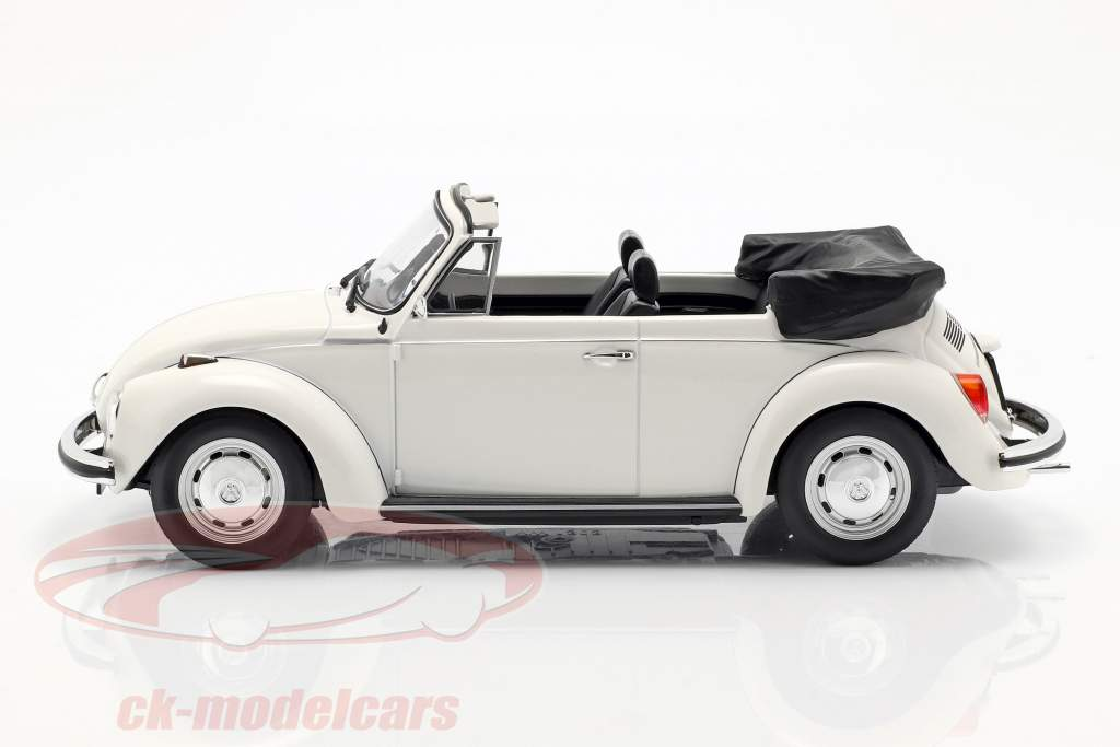 Volkswagen VW 1303 cabriolé año de construcción 1972 blanco 1:18 Norev