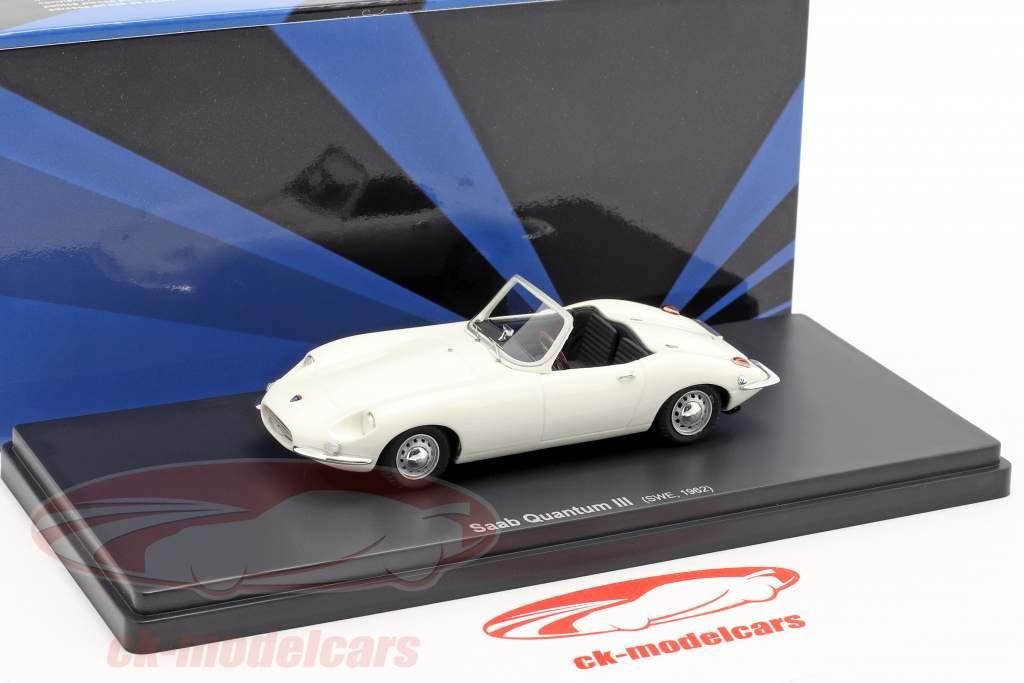 Saab Quantum III Baujahr 1962 weiß 1:43 AutoCult