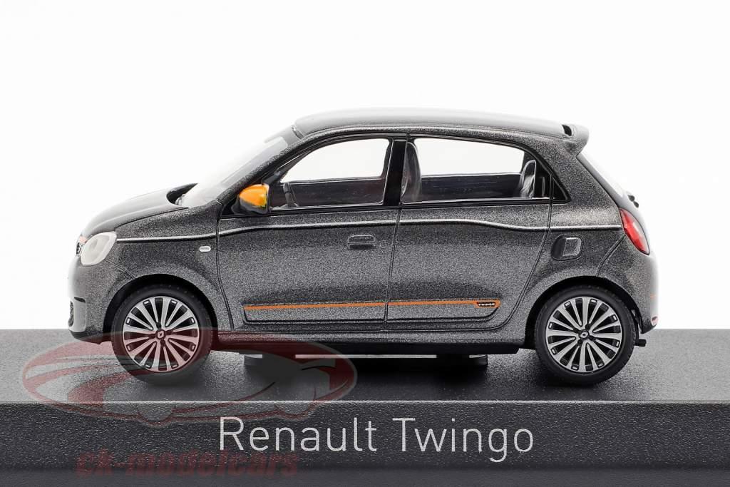Renault Twingo year 2019 lunaire grey metallic 1:43 Norev