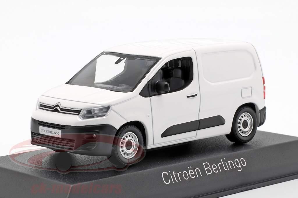Citroen Berlingo Van Baujahr 2018 weiß 1:43 Norev