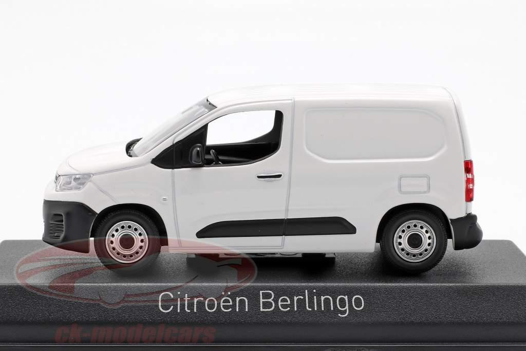 Citroen Berlingo van ano de construção 2018 branco 1:43 Norev