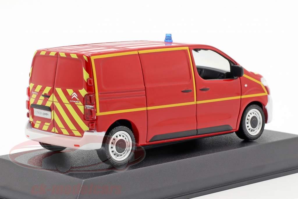 Citroen Jumpy Ambulance Pompiers Van 1:43 Model SOLIDO