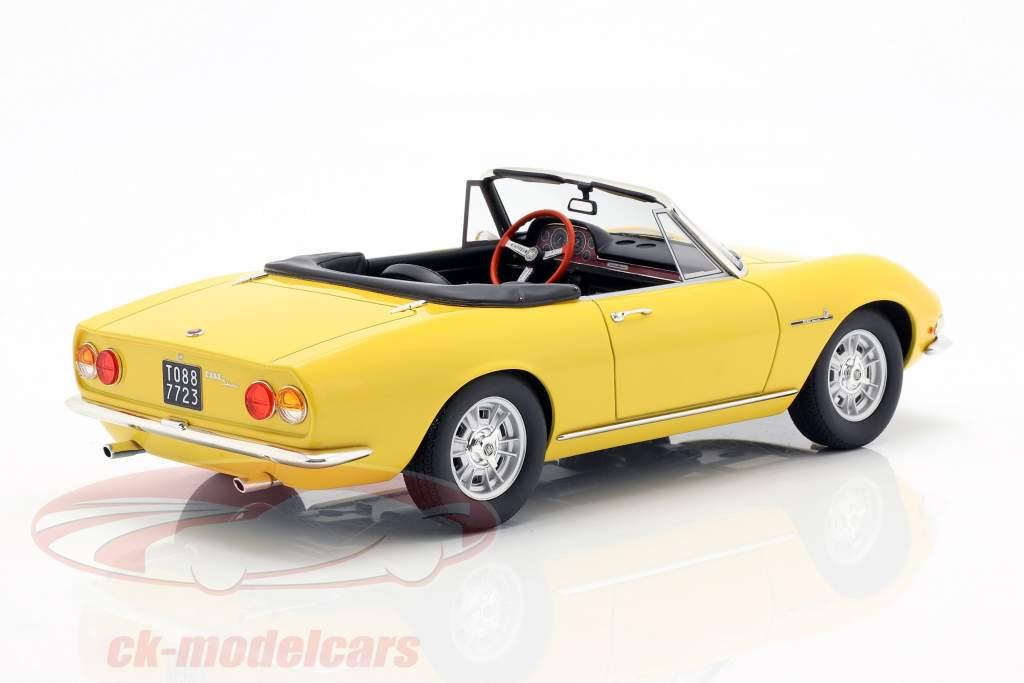 Fiat Dino Spyder Opførselsår 1966 gul 1:18 Cult Scale