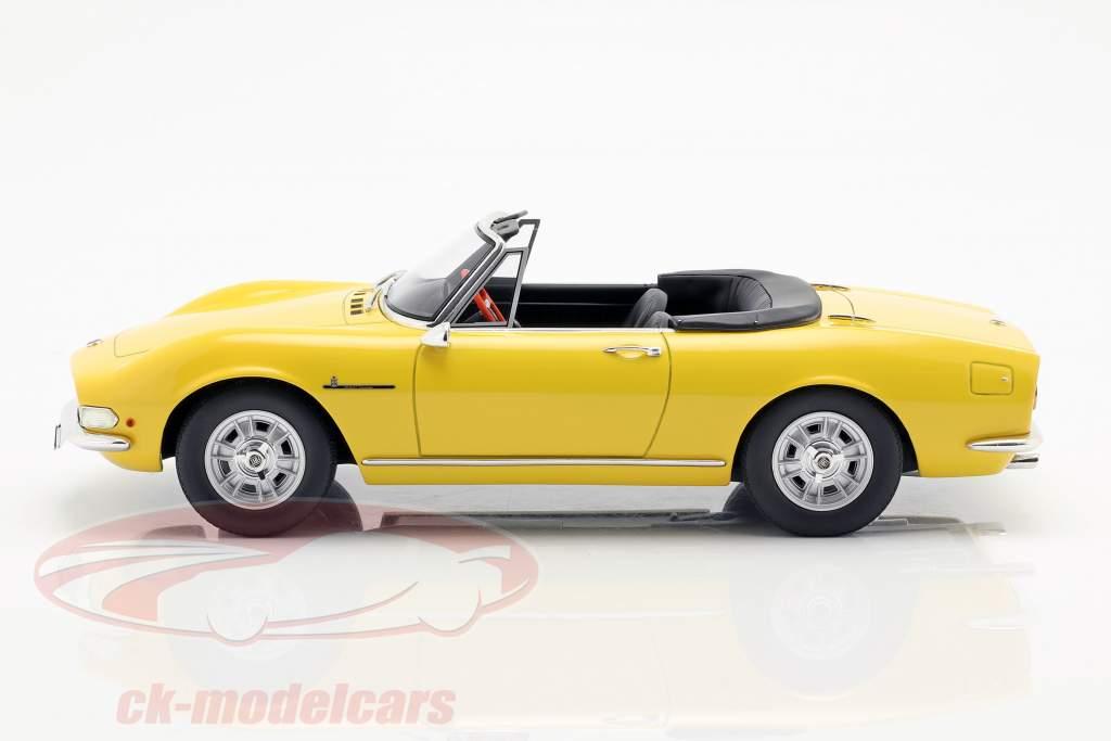 Fiat Dino Spyder année de construction 1966 jaune 1:18 Cult Scale