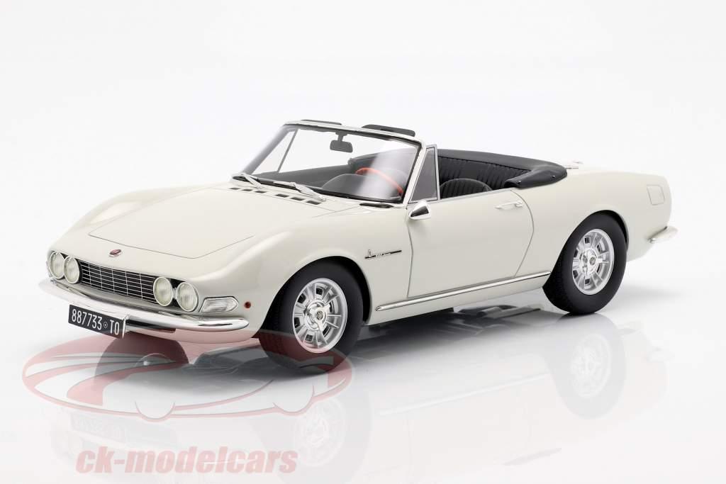 Fiat Dino Spyder año de construcción 1966 blanco 1:18 Cult Scale