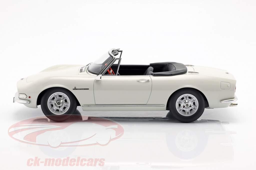 Fiat Dino Spyder year 1966 white 1:18 Cult Scale