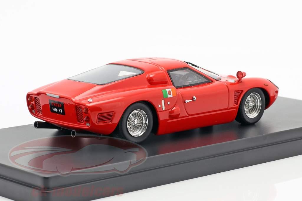 Serenissima 308 Jet Competizione ano de construção 1965 vermelho 1:43 AutoCult