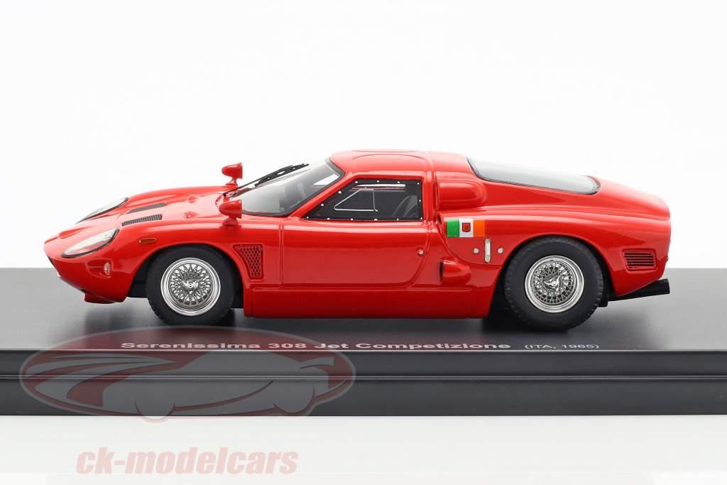 Serenissima 308 Jet Competizione year 1965 red 1:43 AutoCult