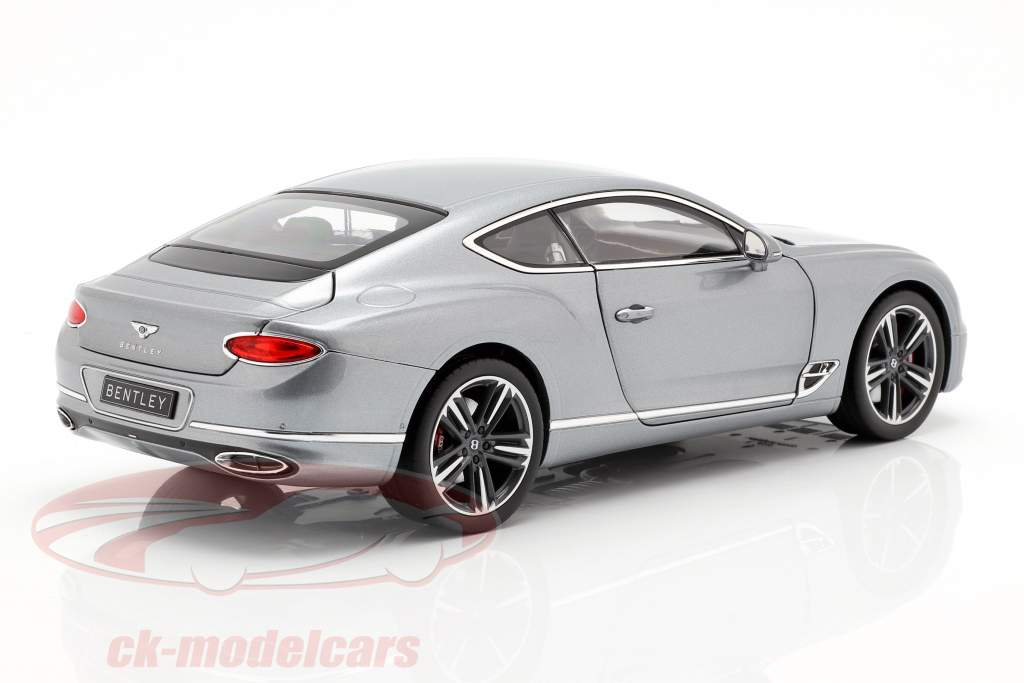 Bentley Continental GT Baujahr 2018 hallmark grau metallic 1:18 Norev