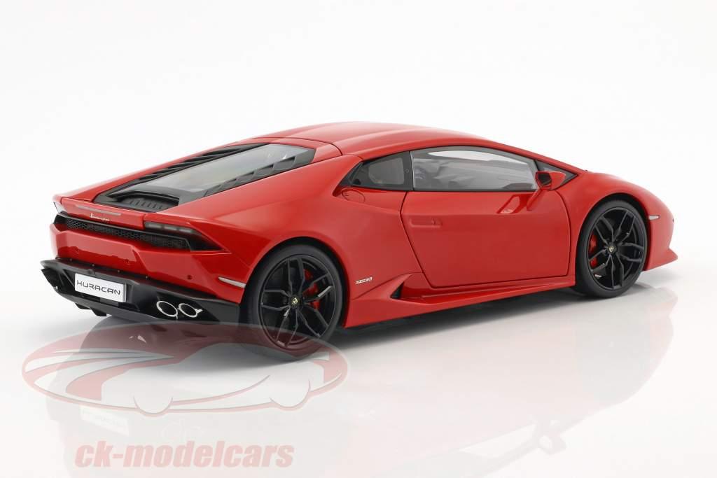 Lamborghini Huracan LP610-4 Bouwjaar 2014 rood metalen 1:18 AUTOart