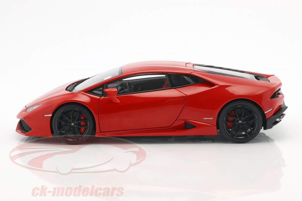 Lamborghini Huracan LP610-4 anno di costruzione 2014 rosso metallico 1:18 AUTOart