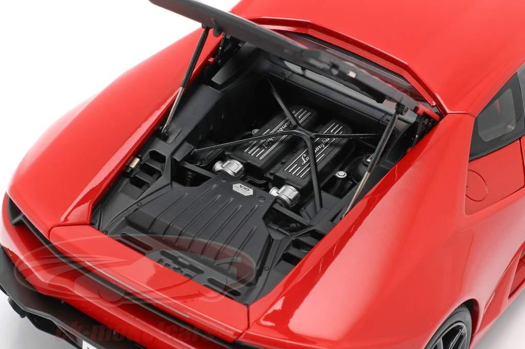Lamborghini Huracan LP610-4 année de construction 2014 rouge métallique 1:18 AUTOart