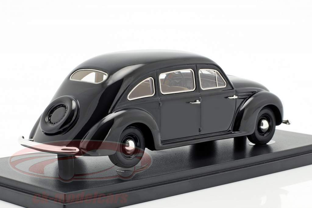 PZInz 403 Lux-Sport year 1936 black 1:43 AutoCult