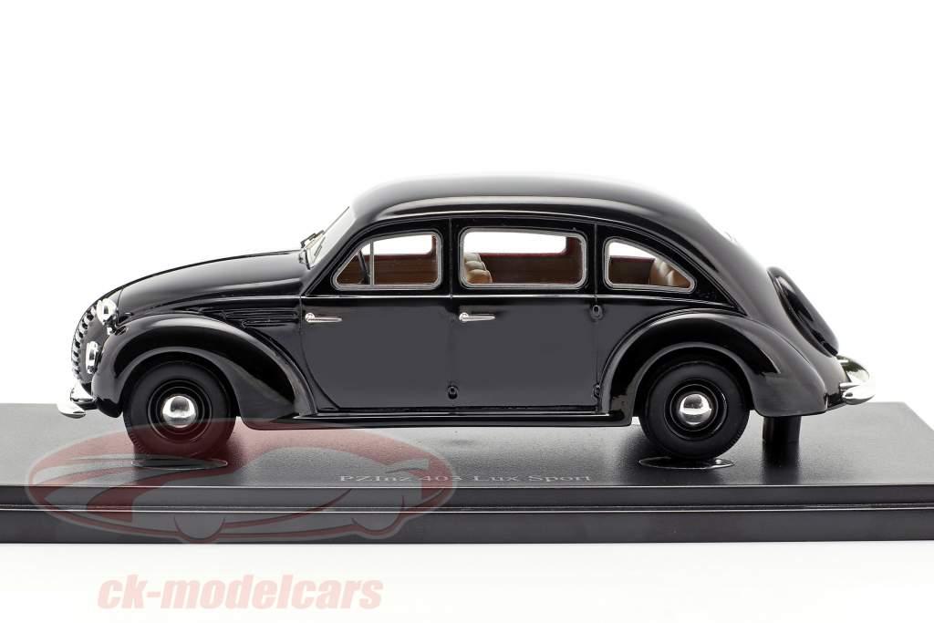 PZInz 403 Lux-Sport Baujahr 1936 schwarz 1:43 AutoCult
